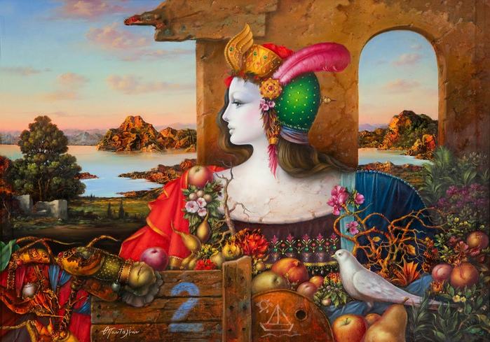 Theodoros Pantaleon _Πανταλεων Θόδωρος_paintings_artodyssey (12) (700x489, 473Kb)