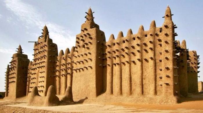 1 Дженненская соборная мечеть, Мали (700x392, 267Kb)
