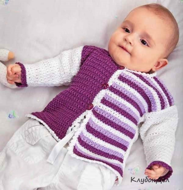Вязания кофточек для деток 774