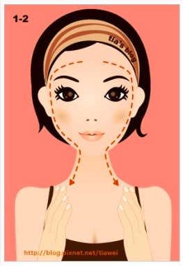 Омолаживающий Массаж Асахи (ZOGAN) для лица в картинках (1) (263x383, 60Kb)