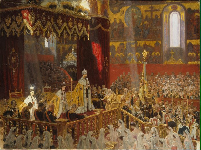 Coronation_of_Nicholas_II_by_L.Tuxen_(1898,_Hermitage) (700x523, 111Kb)