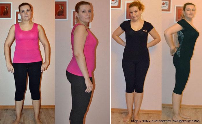 Истории похудения людей - реальные, с фото до и после