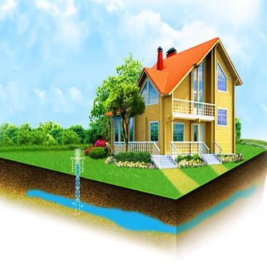 Скважина на участке и глубинный насос решают в доме с водой вопрос!
