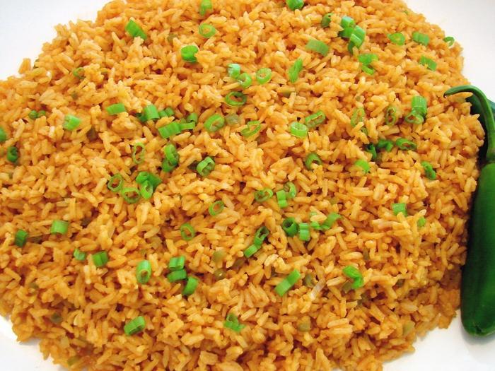 Деликатесный жареный рис на гарнир
