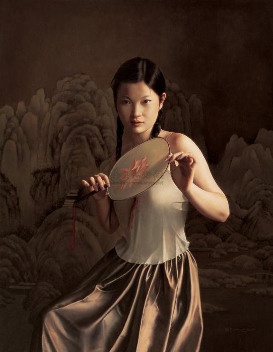 晓青(Xiao Qing)-www.kaifineart.com-2 (542x700, 273Kb)