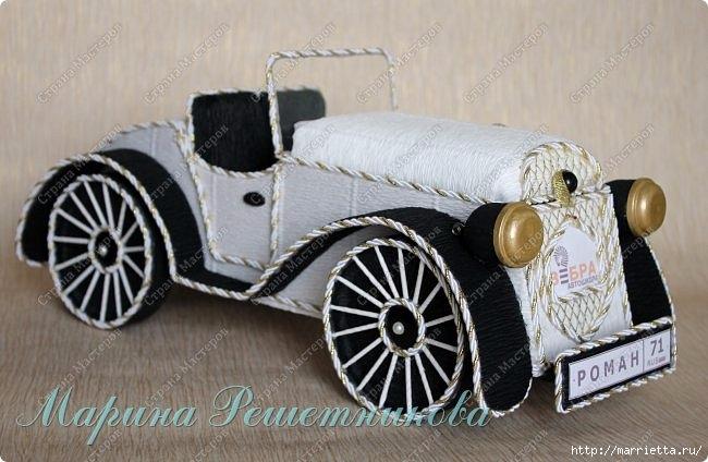 Ретро автомобиль из картона. Мастер-класс (90) (650x424, 167Kb)