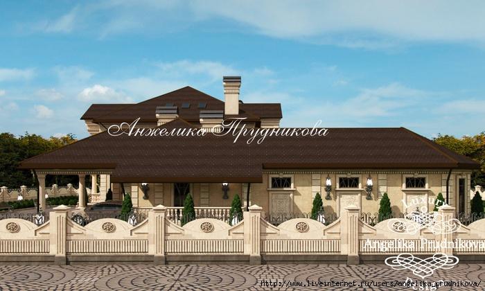 Дизайн экстерьера дома в средиземноморском стиле в посёлке Монтевиль /5994043_05_proektfasadadomavposelkemontevil (700x420, 209Kb)