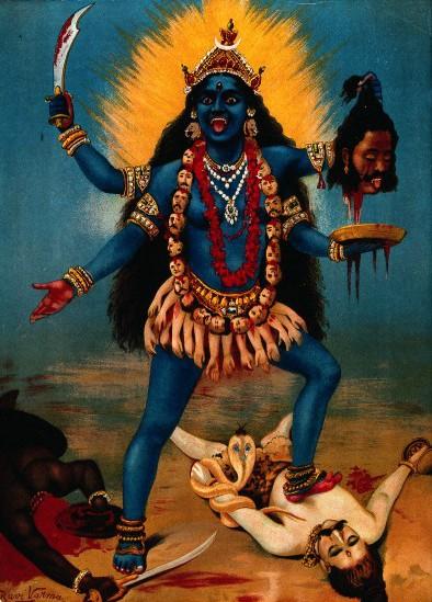 Kali_by_Raja_Ravi_Varma (394x549, 86Kb)