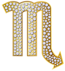 Scorpio_Zodiac_Sign_Gold_PNG_Clip_Art_Image (127x140, 27Kb)