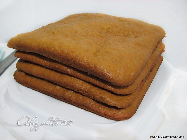 Торт медовик без масла рецепт с фото