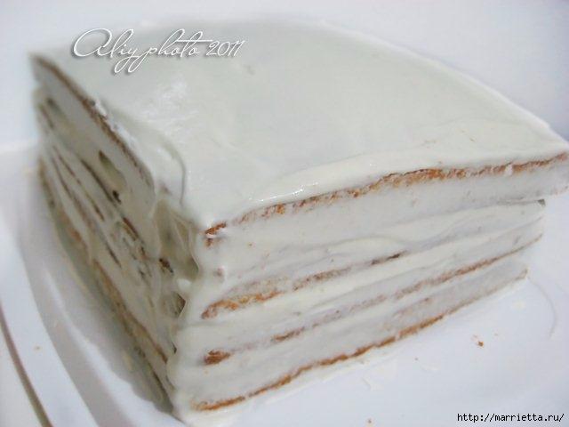 Медовик без масла. Рецепт вкусного тортика (3) (640x480, 101Kb)