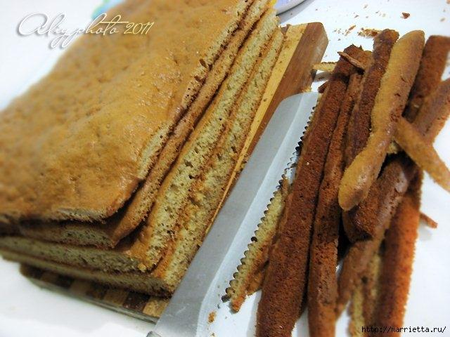 Медовик без масла. Рецепт вкусного тортика (5) (640x480, 182Kb)
