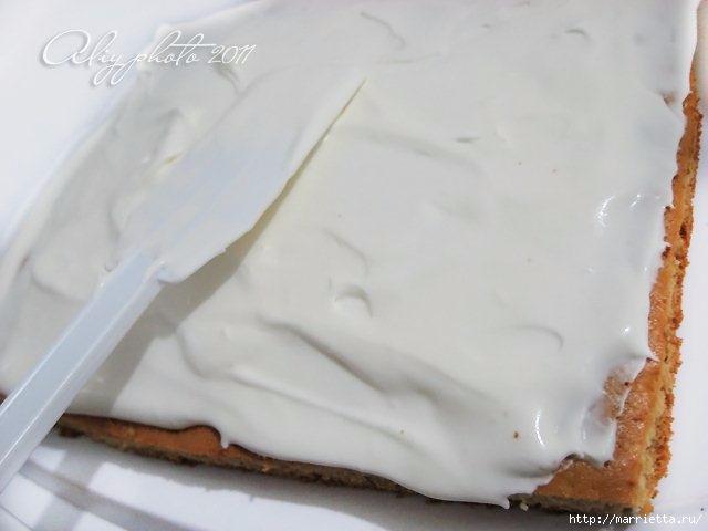 Медовик без масла. Рецепт вкусного тортика (13) (640x480, 98Kb)