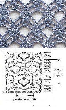 grilles pour une Г©tole ou un plaid printanier au crochet15 (230x386, 111Kb)