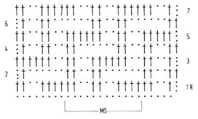 grilles pour une Г©tole ou un plaid printanier au crochet1 (400x241, 47Kb)
