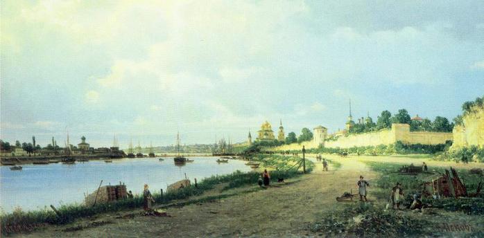Верещагин_Псков 1876 (700x344, 239Kb)