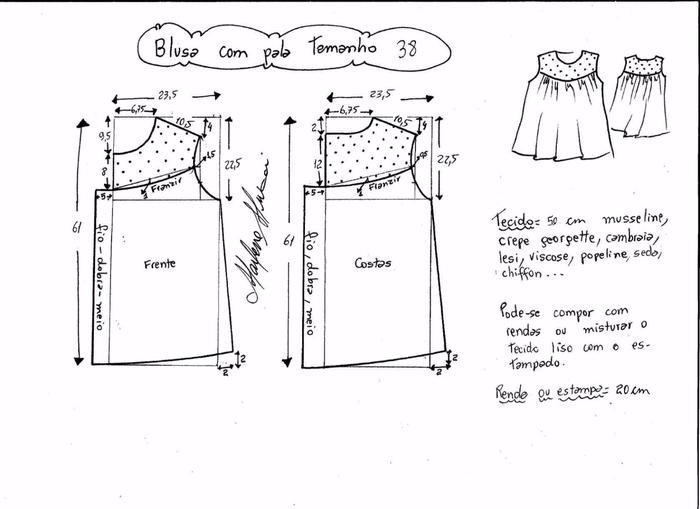 Блузка с кружевной открытой спинкой (2) (700x509, 146Kb)