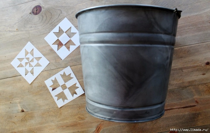 barn-quilt-stencils-aged-galvanized-bucket-Knick-of-Time (695x443, 183Kb)