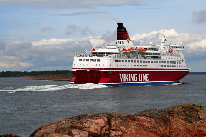 паром Viking Grace 2 (700x466, 358Kb)