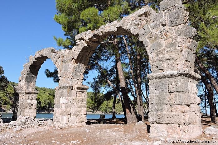 Фаселис, Турция, Shraddha travel (1) (700x466, 415Kb)
