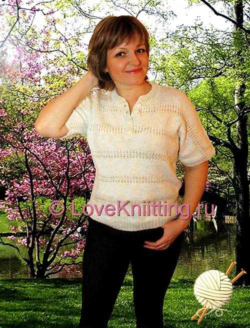 02 Автор Пуловер на застежке 1 МТ2 (500x656, 490Kb)
