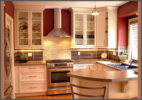 Красивые маленькие кухни1 (600x424, 260Kb)