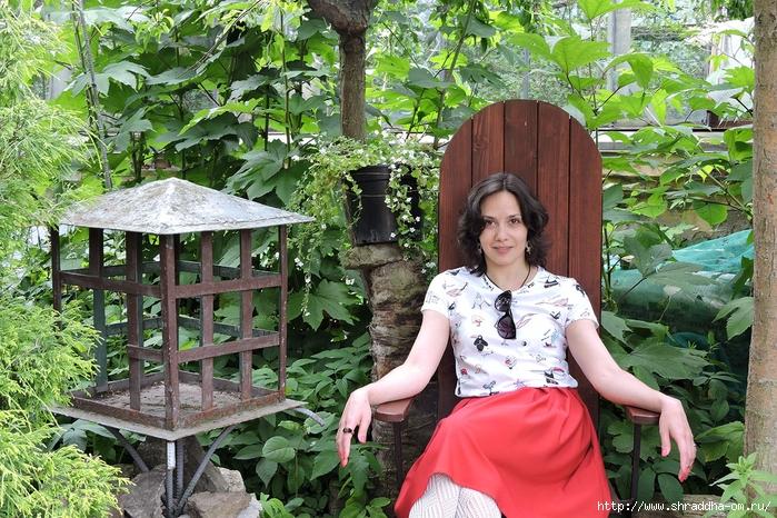 Аня, Питер, Ботанический сад (700x466, 408Kb)
