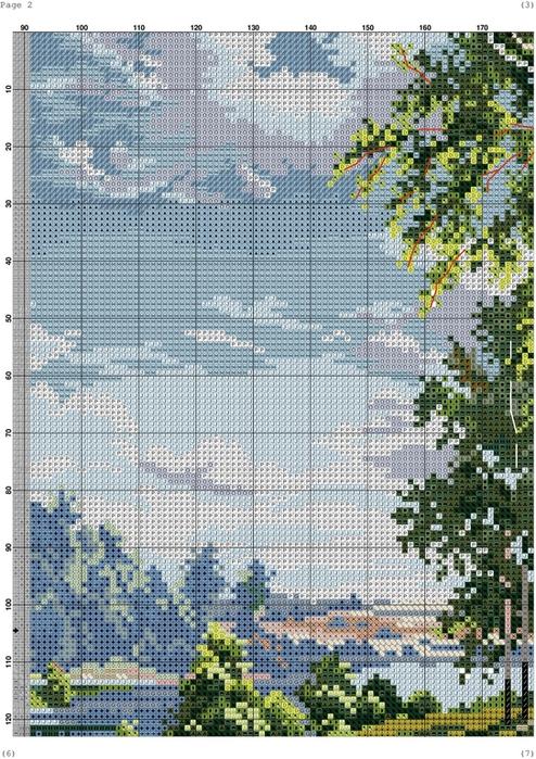 Березы у реки-002 (494x700, 497Kb)