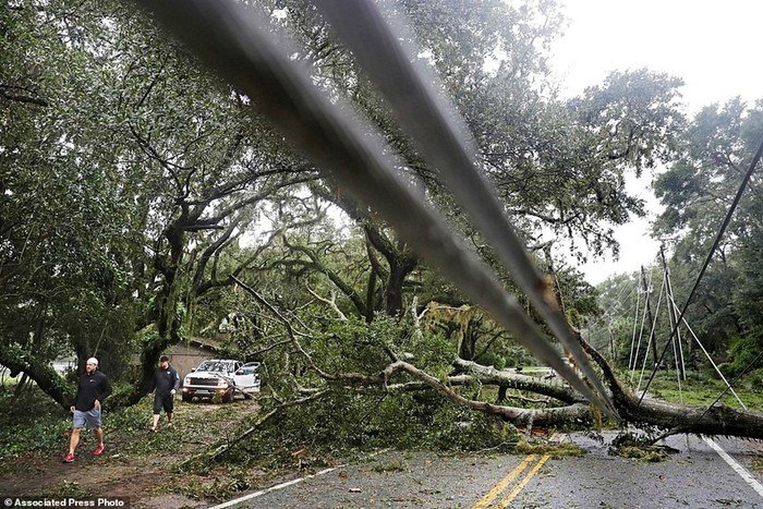 Шокирующие фото: вид сверху на ужасные последствия урагана Мэтью в Америке