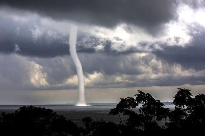 Смерчи, ураганы и торнадо. Причины появления