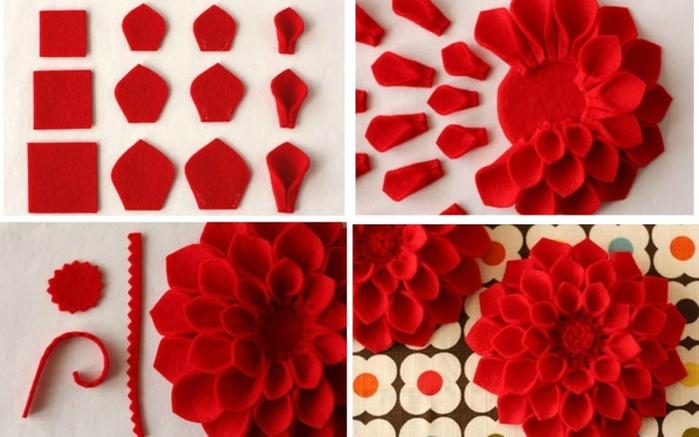 Как делать своими руками цветочки
