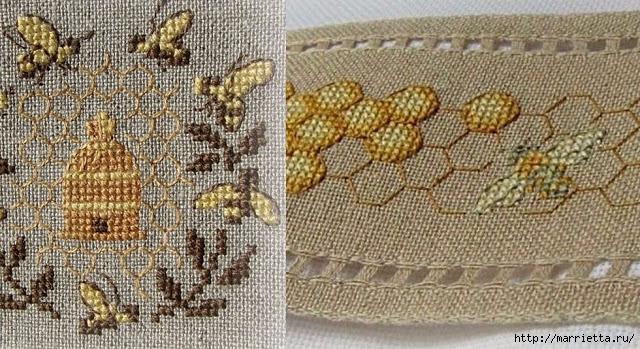 Красивая вышивка для украшения баночек с медом (12) (640x349, 260Kb)
