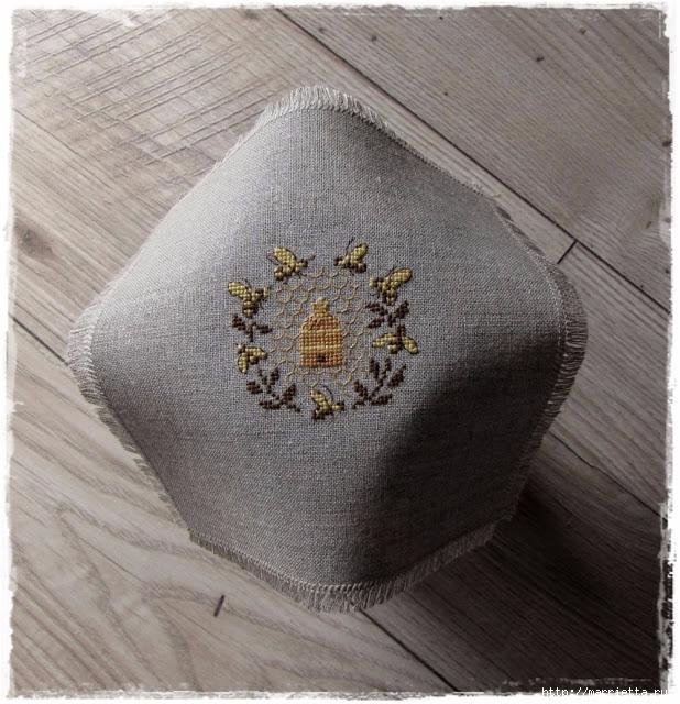 Красивая вышивка для украшения баночек с медом (14) (618x640, 290Kb)