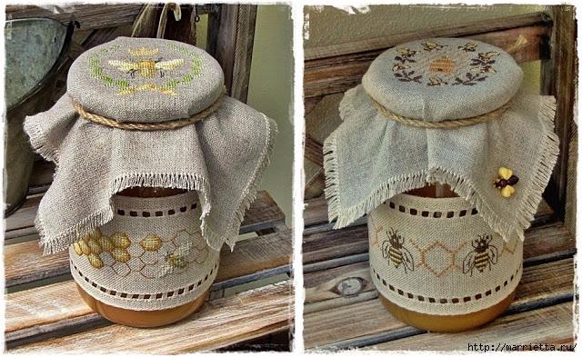 Красивая вышивка для украшения баночек с медом (19) (640x393, 275Kb)