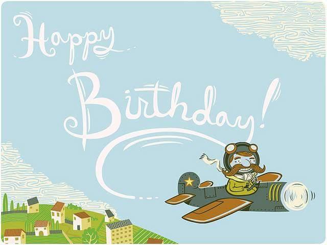 Поздравления с днем рождения мужчине авиатору