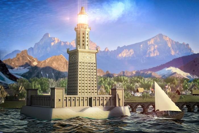 Кто построил первый маяк?