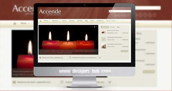 Темы WordPress: шаблоны для сайтов церкви