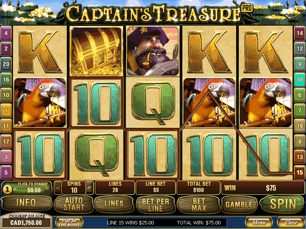 2. Captain's Treasure (600x449, 591Kb)