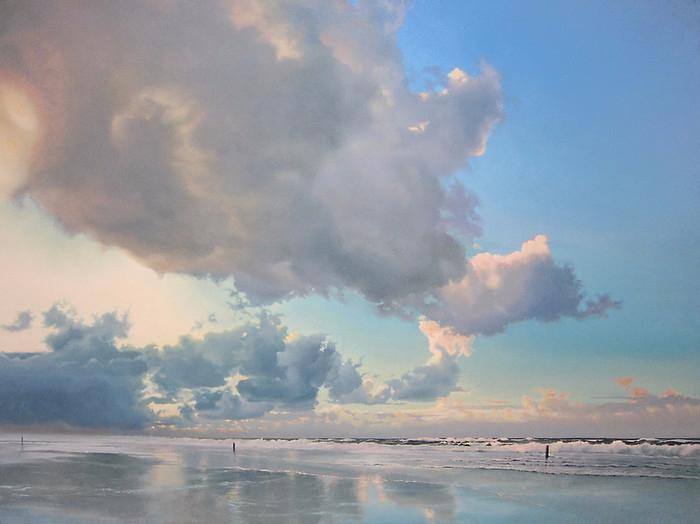 Three Beach Poles (700x524, 268Kb)