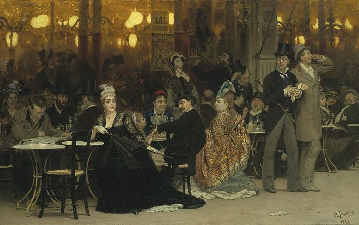 Parisian_Cafe_by_Repin (700x439, 61Kb)