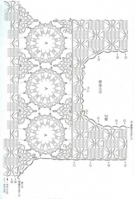схема вязания крючком ажурный топ/3071837_074 (476x700, 206Kb)