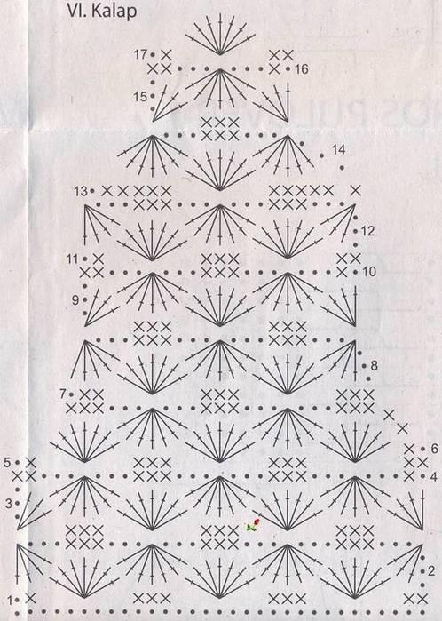 Вязание крючком. Жакет для девочки. схема вязания/3071837_223 (498x700, 70Kb)