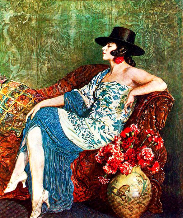 George Owen Wynne Apperley11 (588x700, 639Kb)