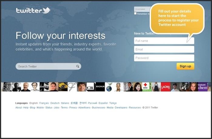 Как зарегистрировать Твиттер без телефона?
