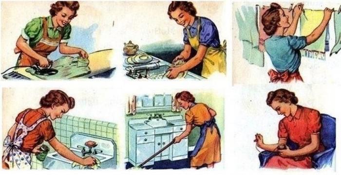 Какой представляли идеальную жену в 1955 году