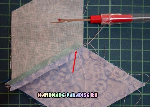 Лоскутное одеяло «Кубики» в технике пэчворк (9) (509x366, 212Kb)