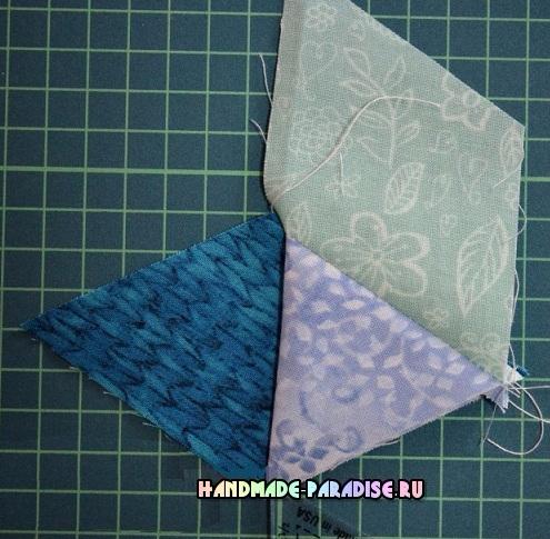 Лоскутное одеяло «Кубики» в технике пэчворк (13) (495x485, 276Kb)
