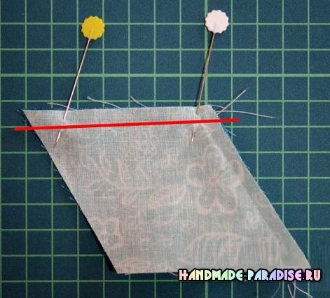 Лоскутное одеяло «Кубики» в технике пэчворк (15) (471x426, 215Kb)