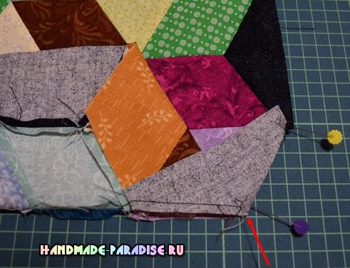 Лоскутное одеяло «Кубики» в технике пэчворк (33) (491x376, 217Kb)