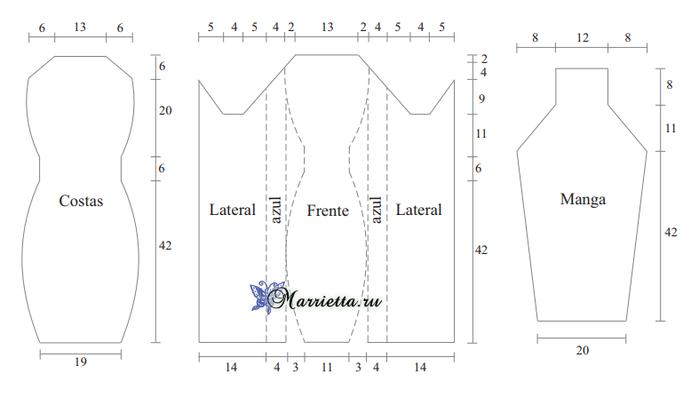 Платье спицами, которое будет стройнить (1) (700x398, 63Kb)